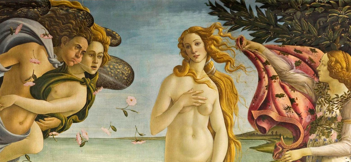 Birth of Venus by Sandro_Botticelli